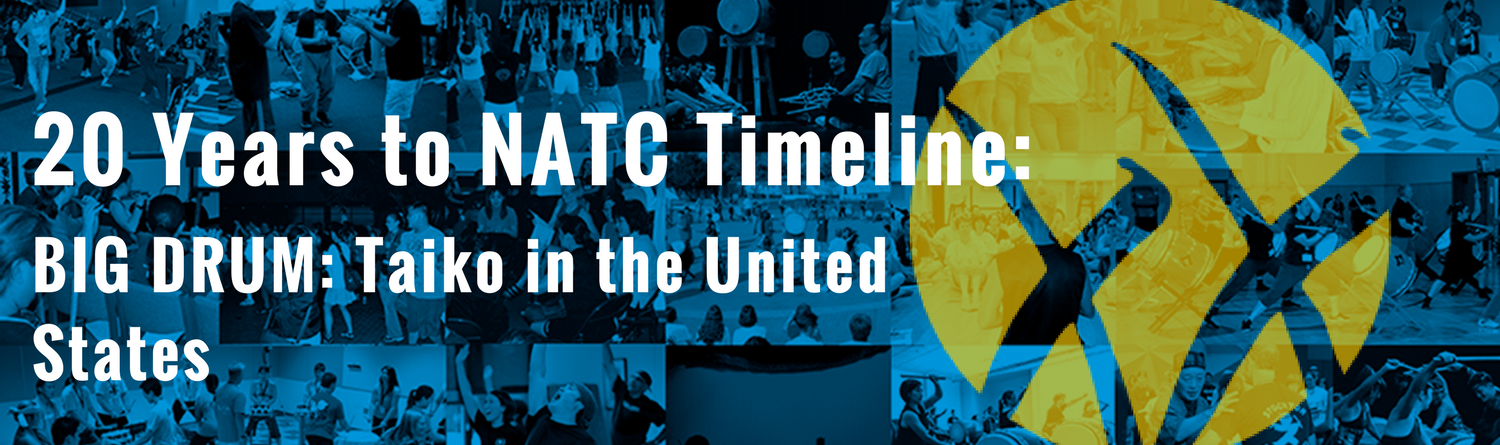 20 Years to NATC Timeline- Big Drum